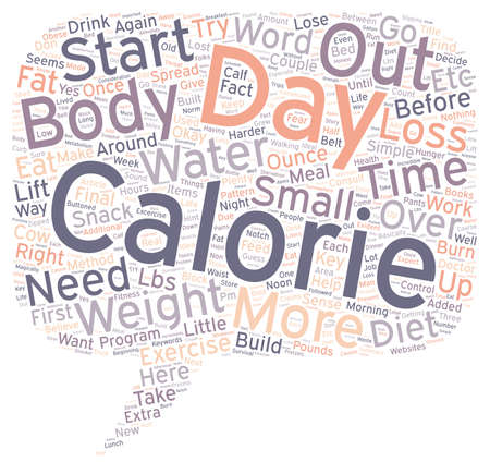 lbs: The D E W Method how I lost lbs text background wordcloud concept Illustration