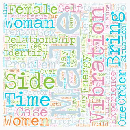 De strijd tussen de seksen tekst achtergrond wordcloud begrip