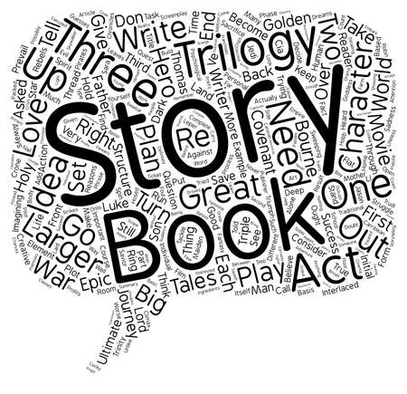 trilogy: Tackle A Trilogy And Triple Your Profits text background wordcloud concept