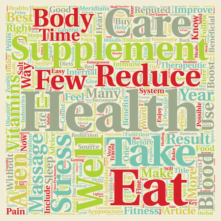 enjoyable: Take Care of Your Health Easy Steps text background wordcloud concept