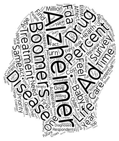 accelerated: Survey Accelerated Treatment Needed For Alzheimer s Disease text background wordcloud concept