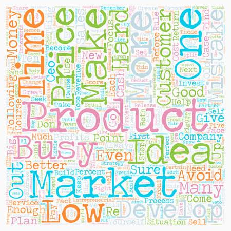 entrepreneurial: Ten Entrepreneurial Mistakes text background wordcloud concept