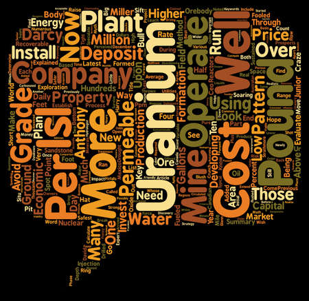 Safest Ways To Invest In Uranium Companies text background wordcloud concept