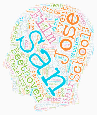 essay: San Jose Schools Celebrate Beethoven With Essay Contest text background wordcloud concept
