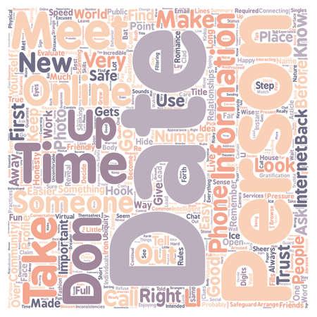 easier: Safe Online Practices text background wordcloud concept