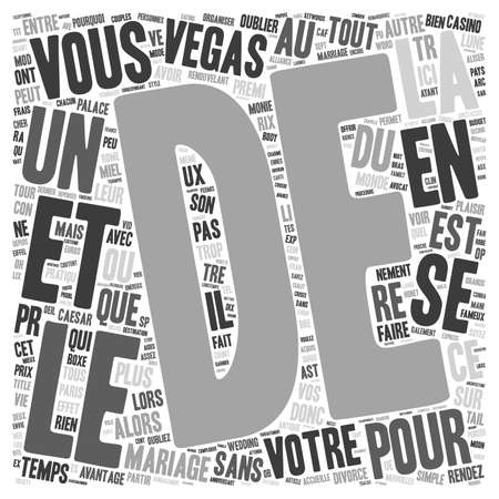 que: Quel Mariage sans Trop Depenser text background wordcloud concept