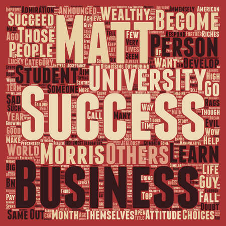 immensely: Rags To Riches Not Just An American Dream text background wordcloud concept