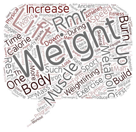 metabolism: Pump Iron and Speed Up Your Metabolism text background wordcloud concept Illustration
