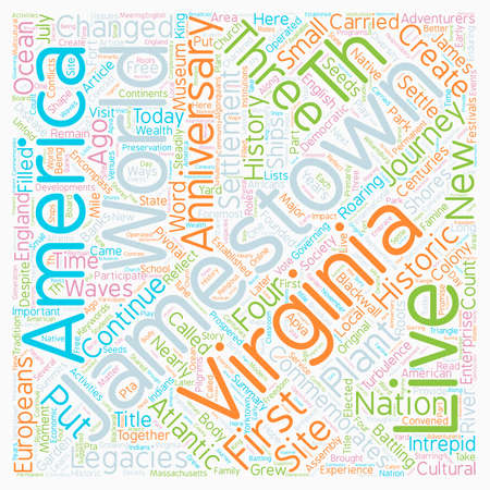 Put The I In America s th Anniversary text background wordcloud concept Illustration