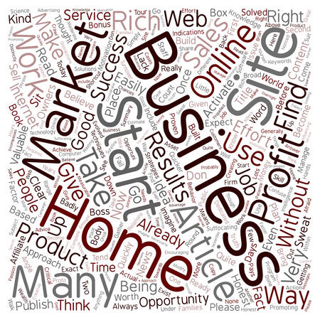 quicker: Quicker Home Business Profits text background wordcloud concept