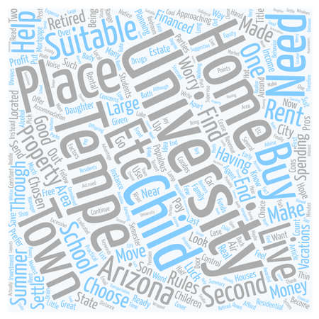 to spend the summer: Profit From Your Child s University Move text background wordcloud concept