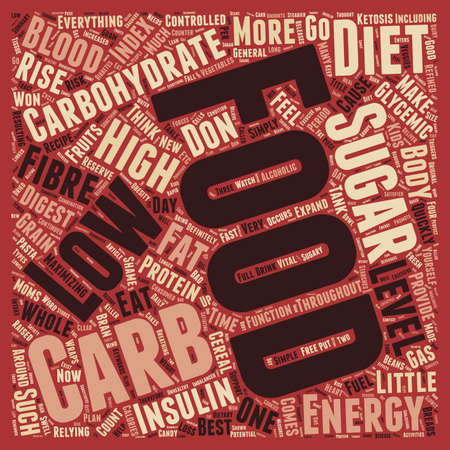 potential: Potential Diet Killer Food High In Carbohydrates text background wordcloud concept Illustration