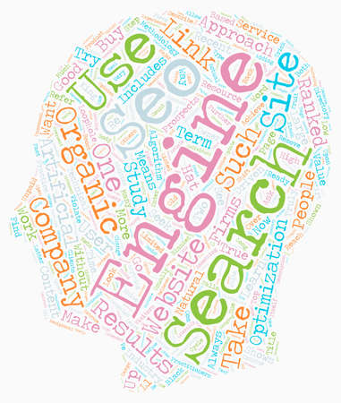 verses: Outsource SEO vs In house SEO text background wordcloud concept