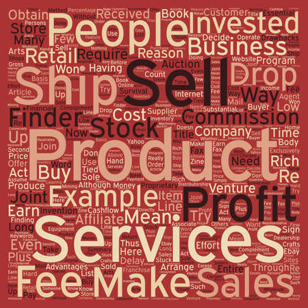 Other People s Products Can Make You Rich text background wordcloud concept Illustration