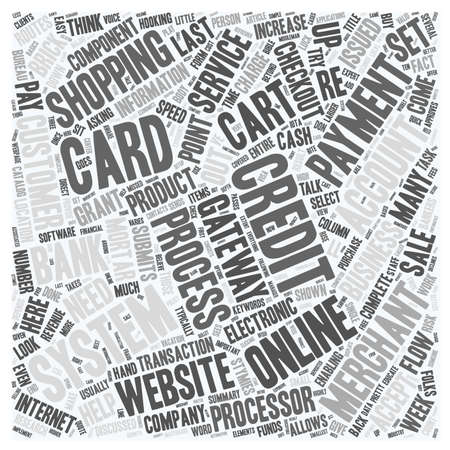 discussed: Online Payments Make It Easy For Your Customers To Buy text background wordcloud concept