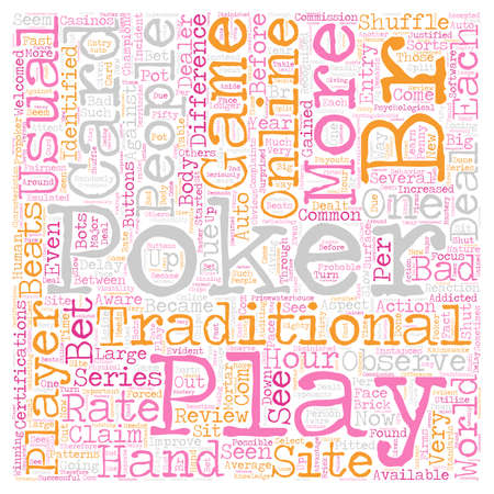 became: play online poker 1 text background wordcloud concept