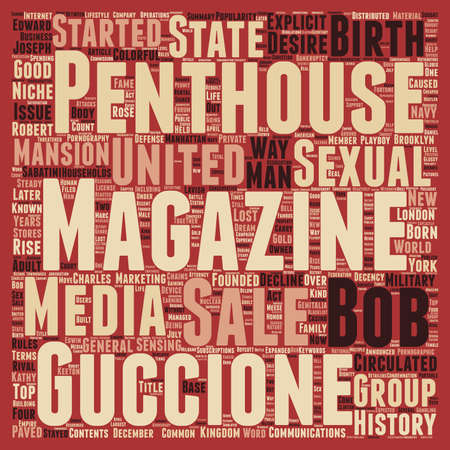 penthouse: Penthouse Magazine A History text background wordcloud concept