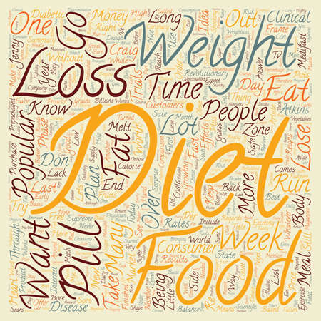 end of the days: Popular Diet Comparisons text background wordcloud concept