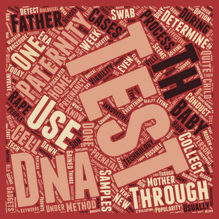 paternity: Paternity Test Are You The One text background wordcloud concept