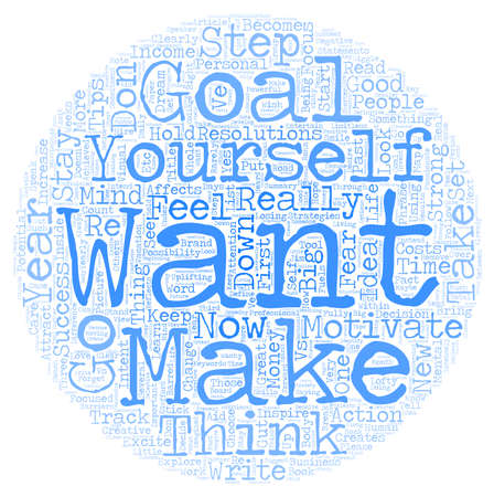 personal goals: Personal Goals that Inspire and Motivate text background wordcloud concept