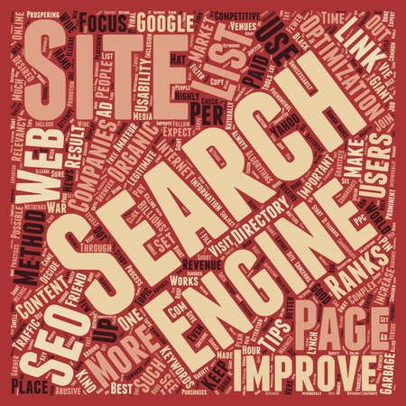 billions: OGSEO best seo tips text background wordcloud concept
