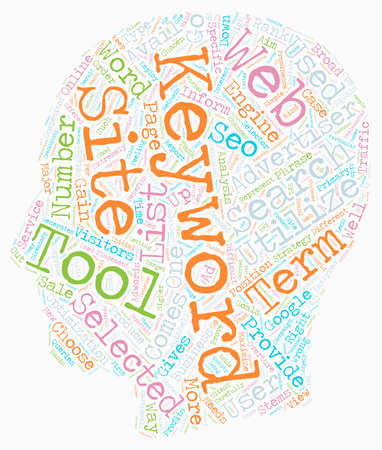 OGSEO Keyword Selector Tools and SEO text background wordcloud concept