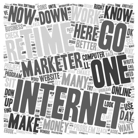 make summary: No Wonder It s So Hard To Make Money Online text background wordcloud concept Illustration
