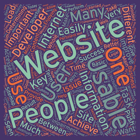 realize: OGWU improve the usability of your web design text background wordcloud concept