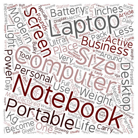 indispensable: Notebook As Indispensable Tool For Modern Executives text background wordcloud concept Illustration