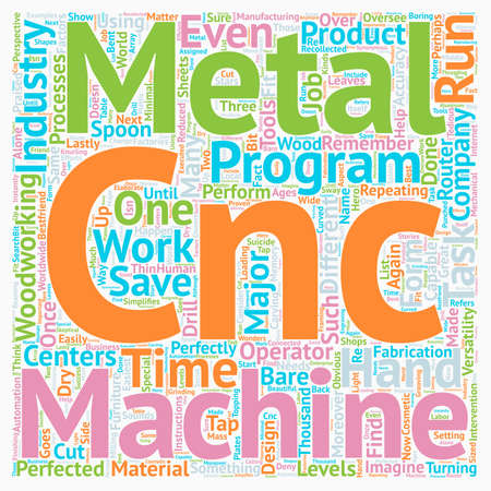 My Bestfriends Name Is CNC A Companys Perspective text background wordcloud concept Illustration