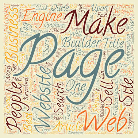 presence: New Business Start Up How Do I Get A Web Presence Fast text background wordcloud concept