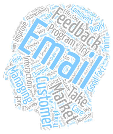Monitor Feedback to Boost Deliverability text background wordcloud concept