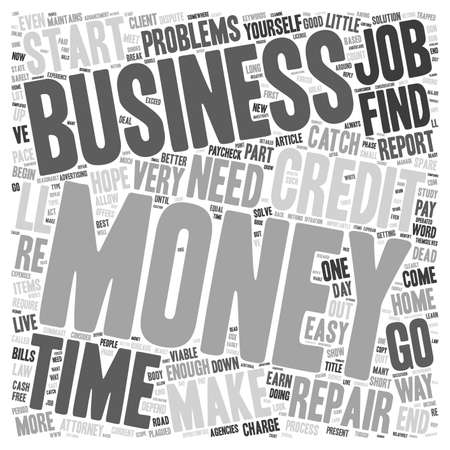consider: Money Problems Consider A Viable Home Business text background wordcloud concept