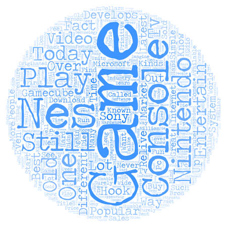 relive: nes game system text background wordcloud concept