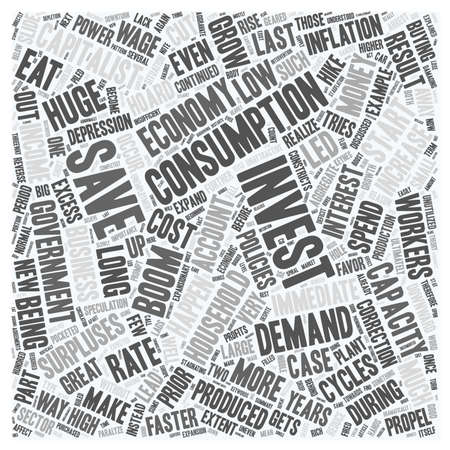 failures: Market Failures And Business Cycles Part 2 text background wordcloud concept