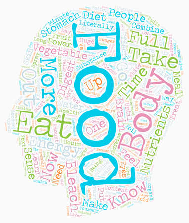 will: Learn What Foods Will Infuse Your Body With Energy text background wordcloud concept Illustration