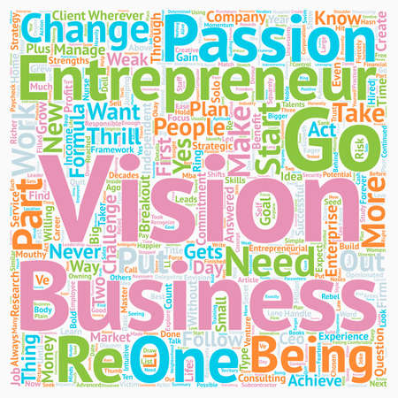 Master This 7 Part Breakout Formula to Start Your Own Business text background wordcloud concept
