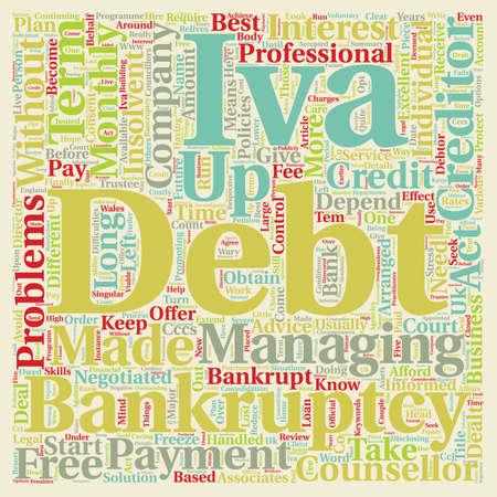 long term: Long Term Debt Problems text background wordcloud concept