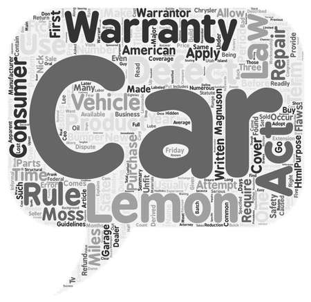 Lemon Law How To Make A Lemonade From Your Sour Experience text background wordcloud concept