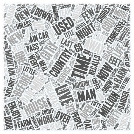 t background: Life Just Ain t What It Used To Be text background wordcloud concept