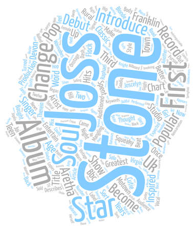 bought: Joss Stone s Road To Glory text background wordcloud concept Illustration