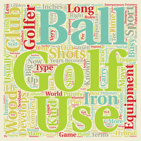 Know Your Equipment Beat Your Opponent With The Right Stuff text background wordcloud concept