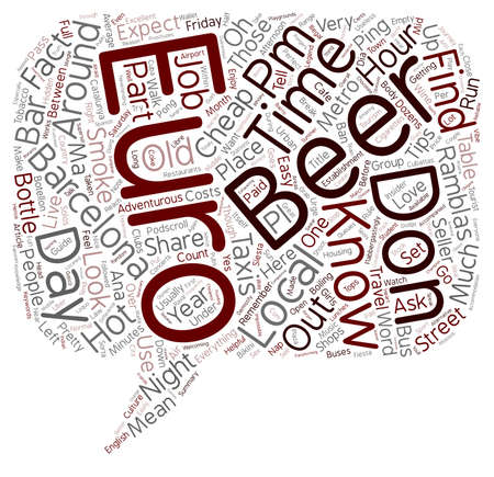 insider: Insider tips and facts about Barcelona For the adventurous tourist text background wordcloud concept