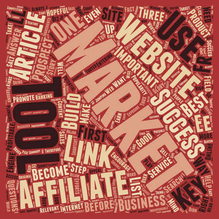indispensable: Indispensable Tools to Catapult the Affiliate Marketer s Sales text background wordcloud concept Illustration