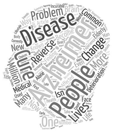 finding a cure: Is There A Cure For Alzheimer s text background wordcloud concept
