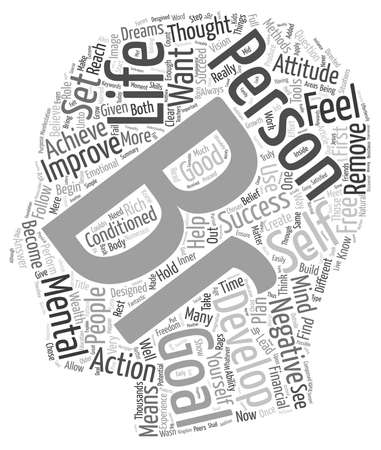 If You Want To Succeed In Life You Must Set Personal Development Goals text background wordcloud concept