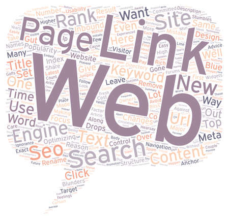 Ignorance Is Bliss But Costly The Dumbest SEO Mistakes Revealed text background wordcloud concept Çizim