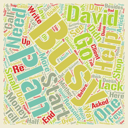I Don t Need a Business Plan Do I text background wordcloud concept