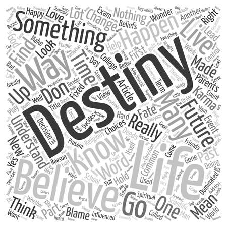 I know my destiny can I change it text background wordcloud concept