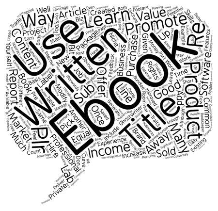 apalancamiento: How To Leverage Your Ebook Income text background wordcloud concept